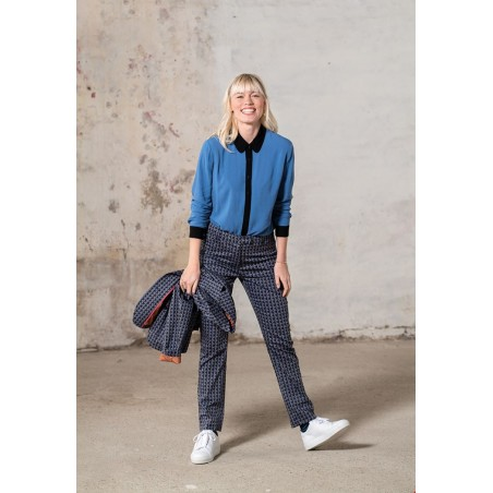 Zilch blouse jeans